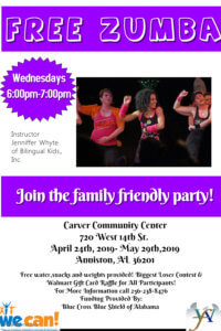 West Anniston Foundation's WE CAN! @ Carver Community Center