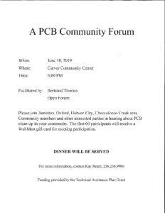 PCB Community Forum @ Carver Community Center